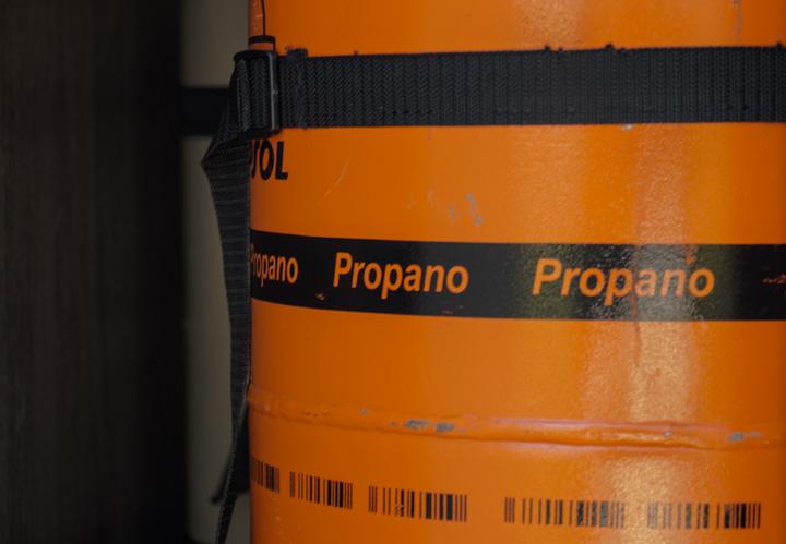 Gasversorgung in Spanien: Propangasflasche von Repsol