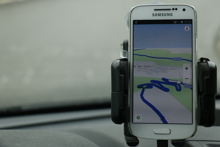 Navigation offline mit dem Smartphone
