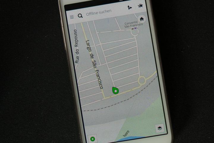 Navigation offline: Here