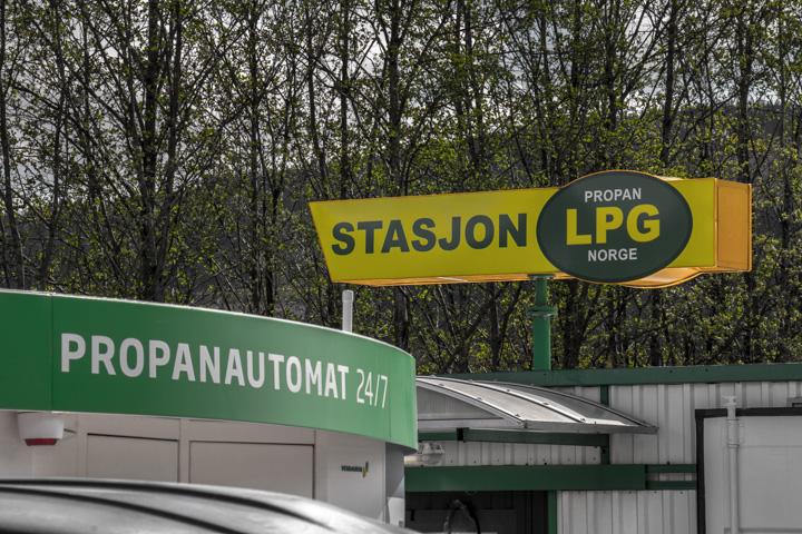 Gasversorgung in Norwegen